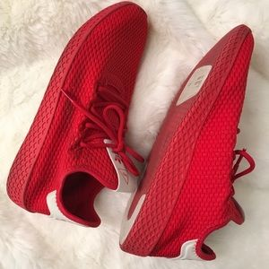 ADIDAS X PHARRELL WILLIAMS HU IN TRIPLE RED
